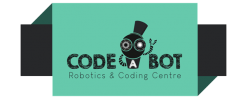 CodeABot Logo on tab banner